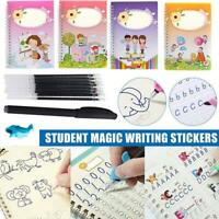 Magic Calligraphy Copybook Kit Handwriting Pen Refill Write Practice