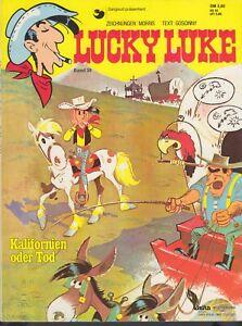 "Lucky Luke Band 39 ""Kalifornien oder Tod"", Morris, Erstauflage 1984 (DM 5,60)"