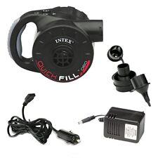 Pompa elettrica Intex 66622 batteria ricaricabile Quick Fill gofia sgonfia Rotex
