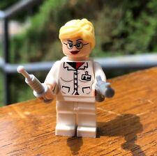 GENUINE LEGO MARVEL DR. HARLEY QUINN HARLEEN QUINZEL MINIFIGURE ONLY FROM# 10937
