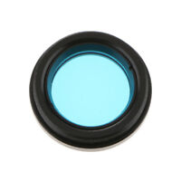 """Blue Filter for 1.25"""" Astronomy Telescope Eyeiece Accessory Moon Planet"""