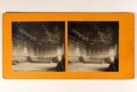 Italia Venezia Palais Dei Doge Interno c1900 Foto Stereo Vintage Analogica