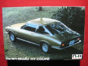 1971 Isuzu 117 Coupe 1:24 Doyusha Motorized Kit Japan Nostalgic Heroes Rare