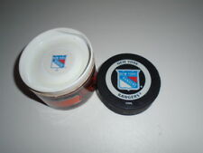 New York Rangers Official Game Puck with case