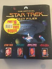 Collectable The Official Star Trek Fact Files No2 - star trek fact file