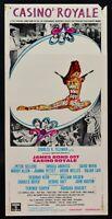 Plakat James Bond 007 Casino Royale Andress Verkäufer Allen Welles N57