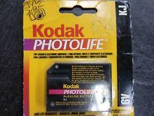 Kodak PhotoLife Alkaline J 6V battery 4LR61 7K67 539 KJ 1412AP Camera EXP:2005