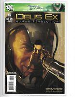 DEUS EX: HUMAN REVOLUTION #5 DC COMICS