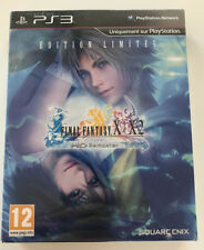 FINAL FANTASY X/X-2 HD remaster PS3 EDITION LIMITEE collector NEUF SOUS BLISTER