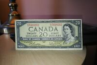 1954 $20 Dollar Bank of Canada Banknote EW7419252