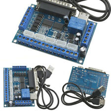 Axis CNC Breakout Board Interface with USB Cable For Stepper Motor Driver MACH3