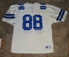 EUC MENS SZ 52 RUSSELL ATHLETIC VINTAGE DALLAS COWBOYS FOOTBALL JERSEY #88 IRVIN