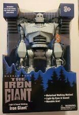 "New Sealed 2020 Light Sound Walking Iron Giant 14"" Figure Walmart Exclusive"