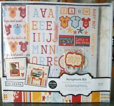 Colorbok Baby Boy Scrapbook Kit ($30.00 value) Little Sailor