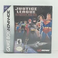 Justice League: Injustice for All Nintendo Game Boy Advance, 2001 new rare