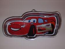 WILTON CARS LIGHTNING McQUEEN DISNEY PIXAR CAKE PAN MOLD INSTRUCTIONS #2105-6400