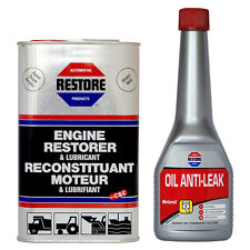 Cure Engine Blue Smoke Within 24 Hrs AMETECH RESTORE OIL + VALVE SEAL ANTI-LEAK