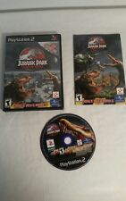 Jurassic Park: Operation Genesis Complete, Authentic PS2 with manual