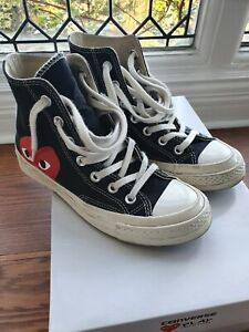 CDG Converse Commes des Garcon All Star Chuck Taylor 1970s Hi top UK 4 - USED