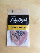 Vintage Poly Royal Dart Flights - Set of 3 - Enjoy Tennessee Whiskey