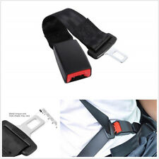 2 Pcs 37.5cm/14.8inch Car Vehicle Seat Seatbelt Safety Extender Extension Buckle
