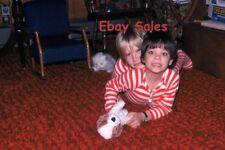 #B7 y Amateur 35mm Slide-Photo- Little Boys in PJ's - 1977