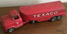 Vtg Buddy L Texaco Truck Red Steel Toy Tour With