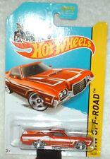 Hot Wheels 2014 HW Hot Trucks Series '72 Ford Ranchero orange,black int,ex.card