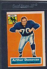 1956 Topps #036 Arthur Donovan Colts VG 56T36-42016-1