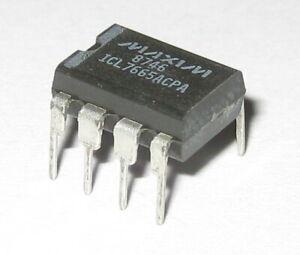 Maxim ICL7665 Voltage Over / Under Detector Dual Comparator - 8 Pin DIP 3uA CMOS