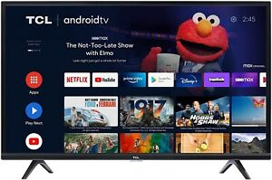 TCL 40-inch Class 3-Series HD LED Smart Android TV - 40S334, 2021 Model
