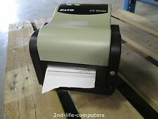 SATO CX400 EX2 THERMAL Barcode Label Printer Parallel Serial INCL PSU 170684 IN