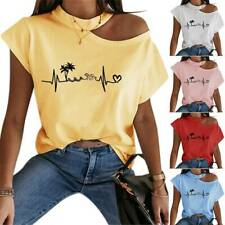 By Alina Mexton T-Shirt Pailletten Top  Wrap Me Up Baby Oberteil Bluse Neon XS-M