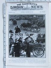 1918 WWI PRINT HOME COMING COMMANDER IN CHIEF DOUGLAS HAIG QUEEN ALEXANDRA
