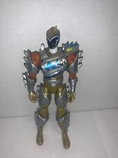 """New listing Power Rangers 5"""" Action Figure (Bandai 2015) Gold Dino Charge Rare Incomplete"""