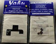 Yahu Models YMA7228 1/72 PE Reggiane Re.2002 Instrument Panel