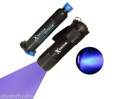 Xfactor® UV LOCA Glue Adhesive + UV LED BLACK LIGHT FLASHLIGHT TORCH 395nM