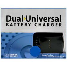 Delkin Dual Universal Charger->Most innovative charger!