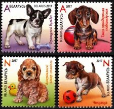 BELARUS 2017-04 FAUNA: Dogs / Puppies. Set, MNH
