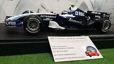 F1 WILLIAMS BMW FW29 # 17 WURZ 1/18 HOT WHEELS K6635 formule 1 voiture miniature