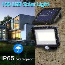 1pc LED Solar Luz de Pared Impermeable Sensor de Movimiento Lámpara Exterior