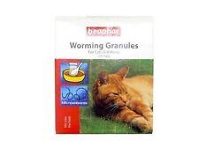 Beaphar Entwurmung Würmer Granulate Pulver für Katzen Dewormer Neu
