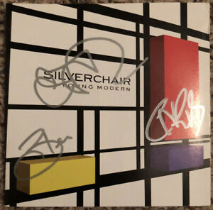 """Autographed SILVERCHAIR """"Young Modern"""" CD Signed"""