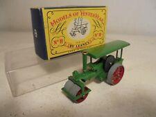 MATCHBOX LESNEY MOY Y-11-1920 Aveling & Porter Road Roller-RARE-mint/boxd c1958