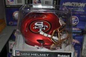 San Francisco 49ers NFL BLAZE Alternate Riddell Mini Football Helmet Roger Craig