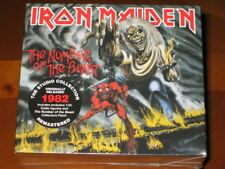 IRON MAIDEN - The Number Of The Beast - Box Set! CD, Eddie Figurine, Patch, NEW!