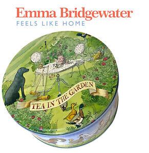 Emma Bridgewater Matthew Rice Round Storage Tin- A Year In The Country- Rare