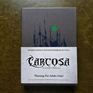 CARCOSA - MYTHOS LOVECRAFT FIRST PRINTING OSR LAMENTATIONS RPG ROLEPLAYING LOTFP