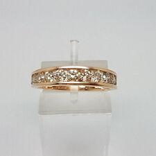 Stunning 9ct Rose Gold 1ct Diamond Eternity Ring.  Goldmine Jewellers.