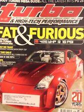 Turbo Magazine Wideboy Twin-Turbo Nissan 350Z September 2005 020118nonrh